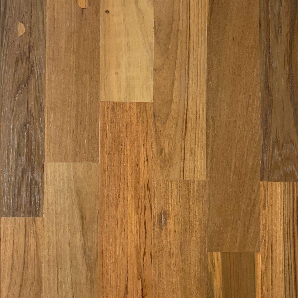 Finished Smooth Teak Flooring FInishes Option