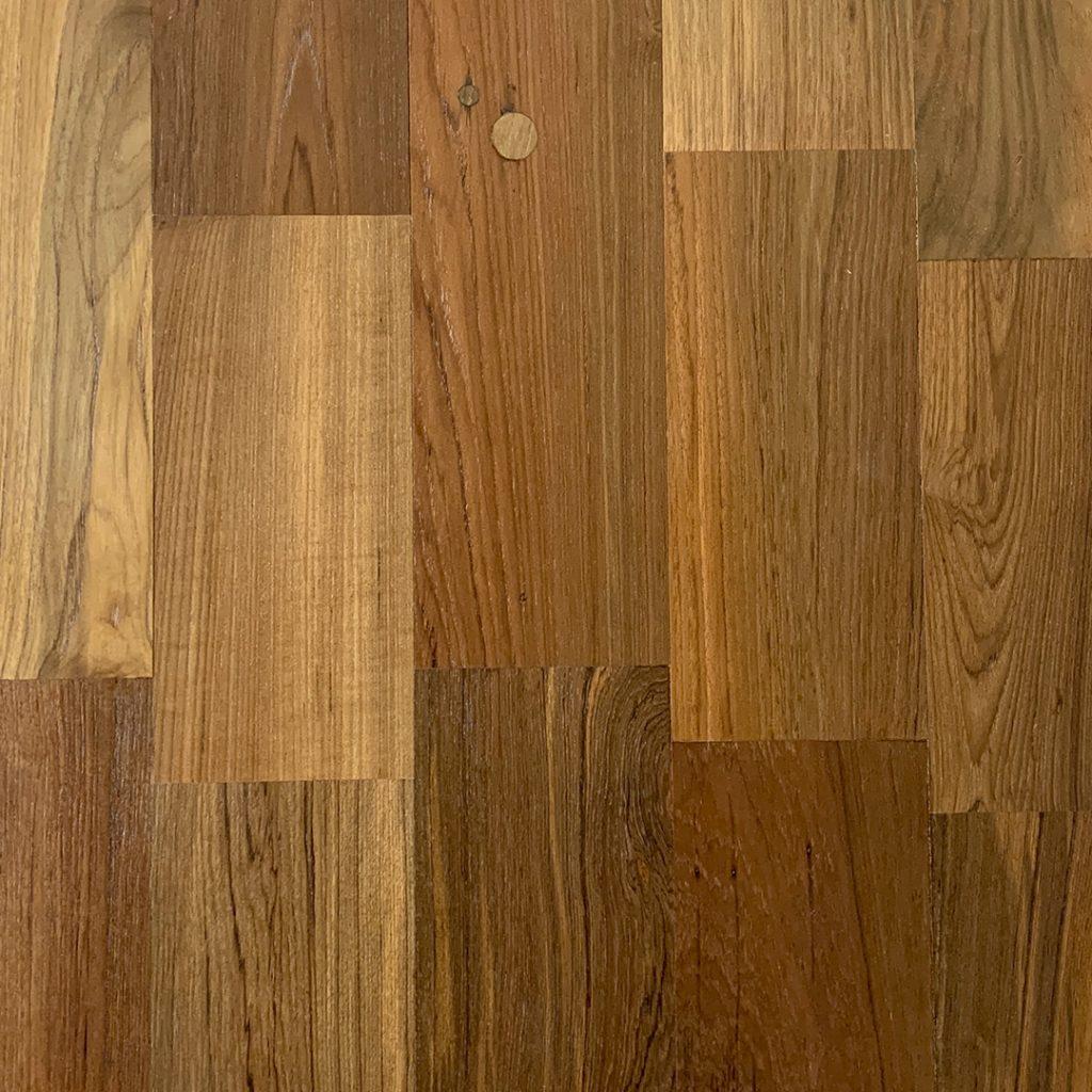 Rangoon Reclaimed Teak Flooring