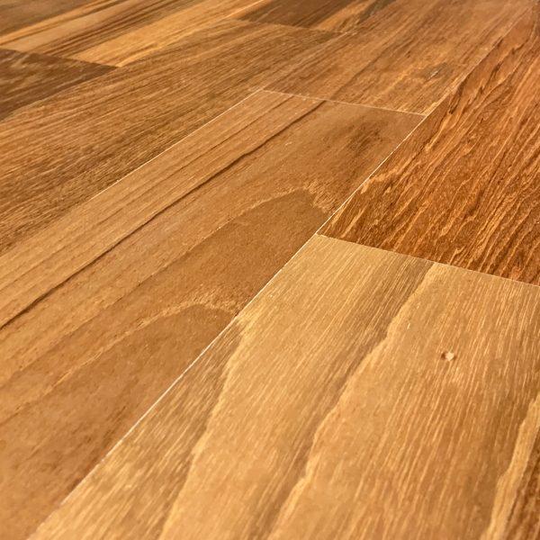 Recaliamed Teak Flooring Smooth Finish