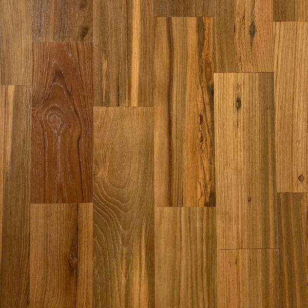 Recaliamed Teak Flooring Smooth Mandalay Finish