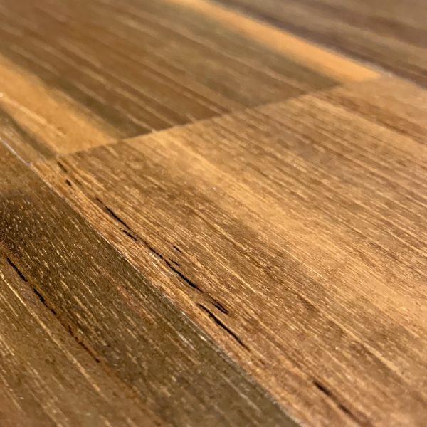 Recaliamed Teak Hardwood Flooring Smooth Finish