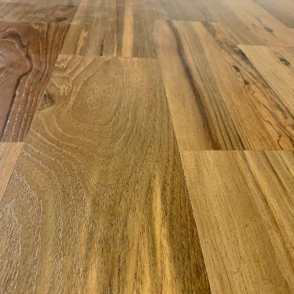 Recaliamed Teak Hardwood Flooring Smooth Mandalay Finish
