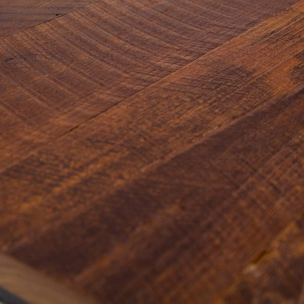 Reclaimed Teak Hardwood Flooring Bansaw Water Base Coating