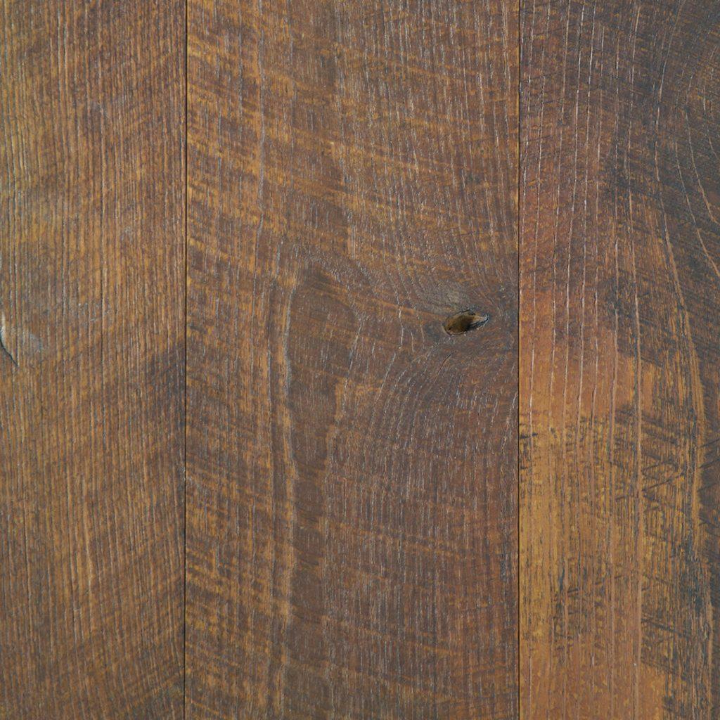 Rustic Original Face Teak Flooring Finishes Option