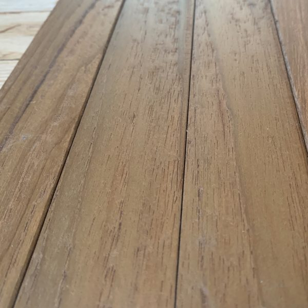 Teak Flooring Wire Brush Raw And Finished Mergui