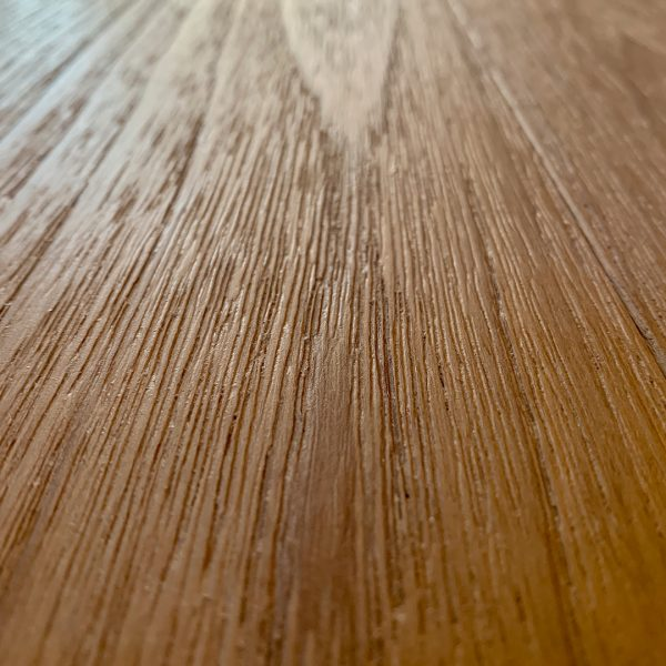 Teak Flooring Wire Brush Raw And Finished Natural Teak