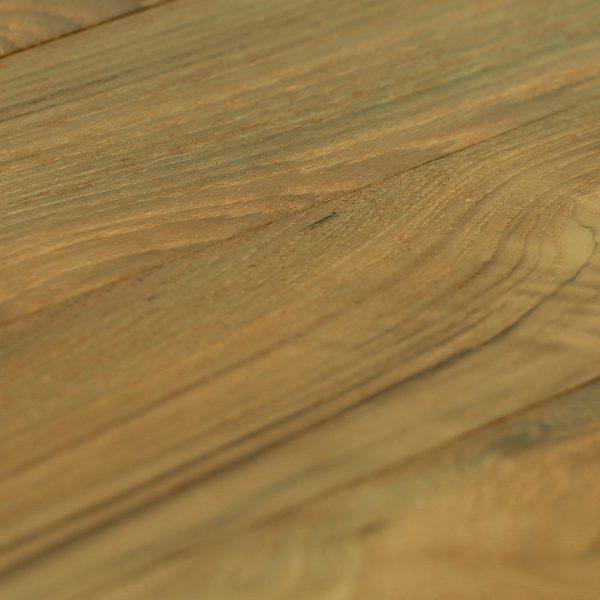 Teak Hardwood Flooring Wire Brush Raw And Finished Classic Reclaimed