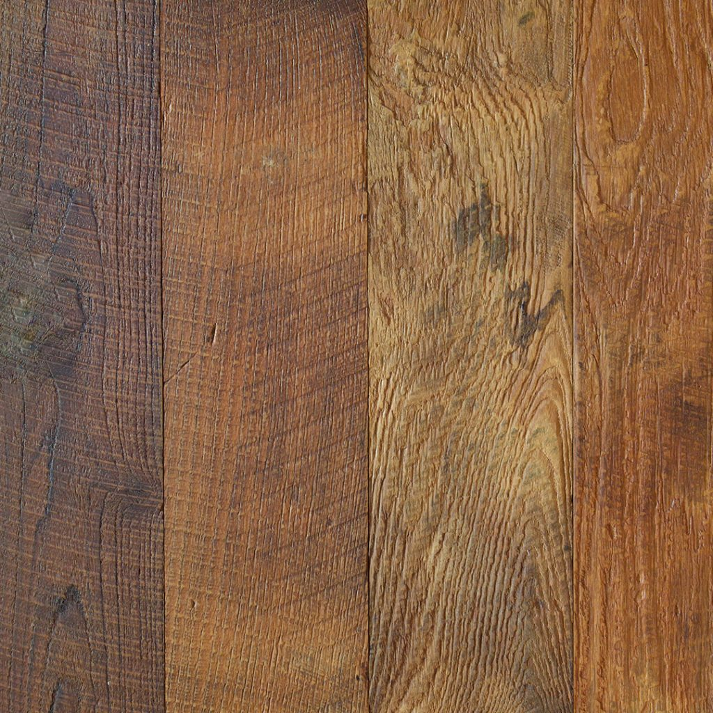 Techtona Reclaimed Teak Hardwood Flooring Textured Finishes Water Base Option