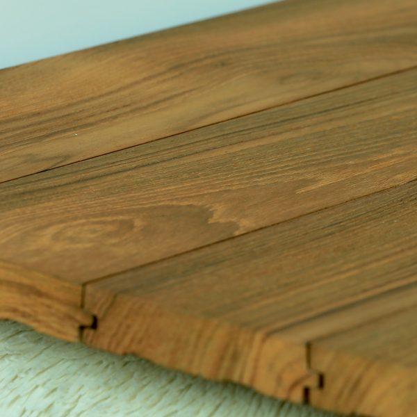 Techtona Teak Hardwood Flooring Wire Brush Raw And Finished Classic Reclaimed
