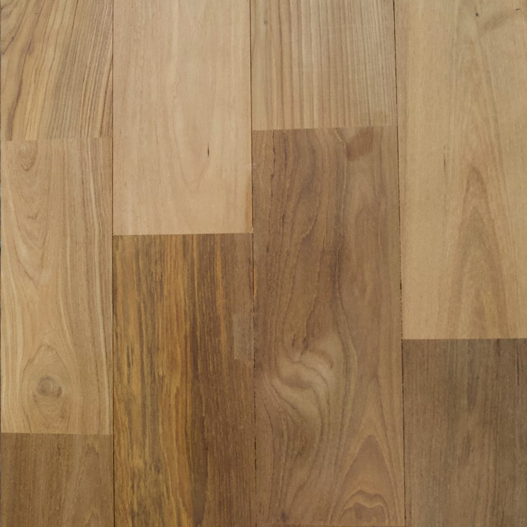 Unfinished Smooth Teak Flooring Finishes Option