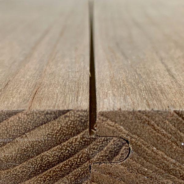 Engineered Reclaimed Teak Hardwood Flooring Natural Grey Techtona