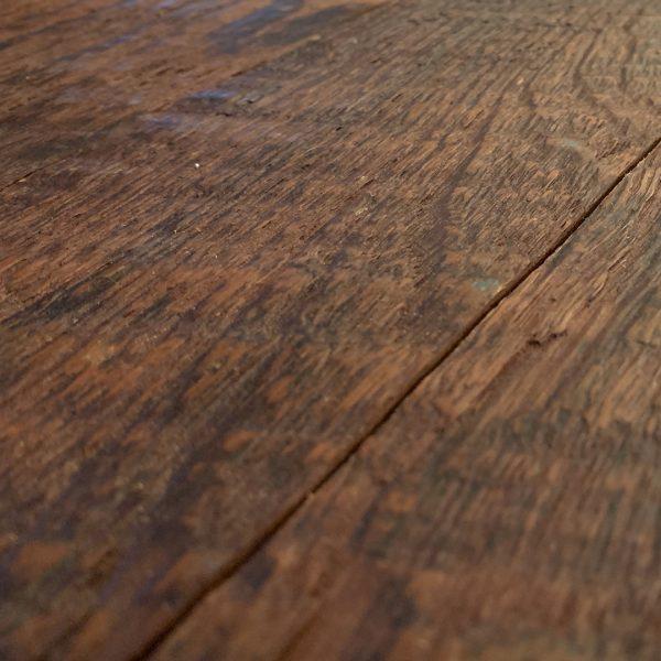 Reclaimed Teak Hardwood Paneling Original Face