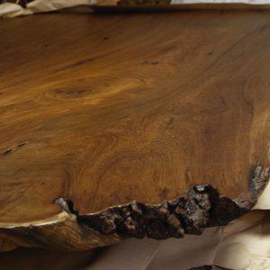 Teak Hardwood Table Slab