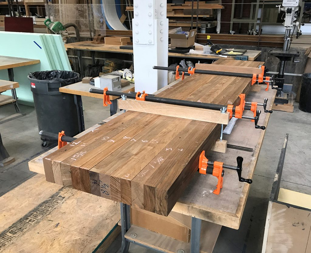 Techtona Reclaimed Teak Hardwood Bench