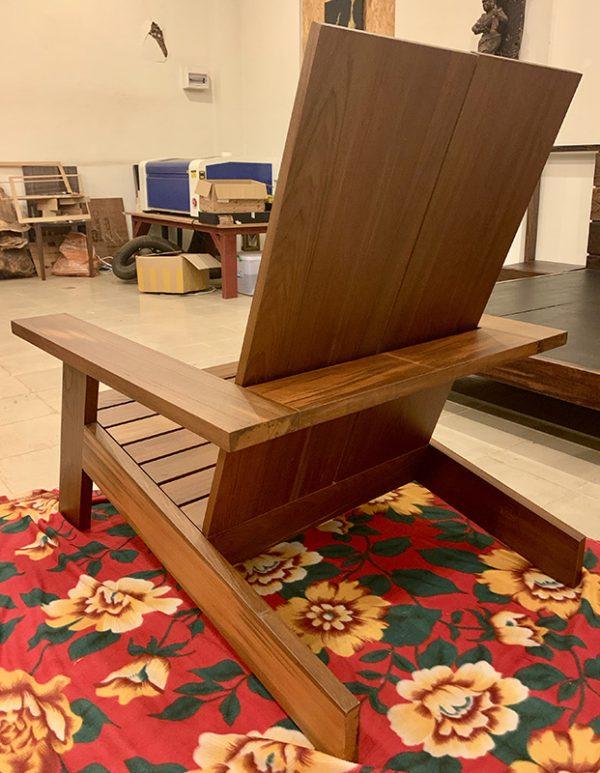 Old Growth Teak Adirondack Chairs