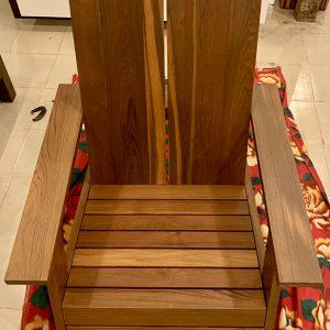 Reclaimed Teak Adirondack Chairs
