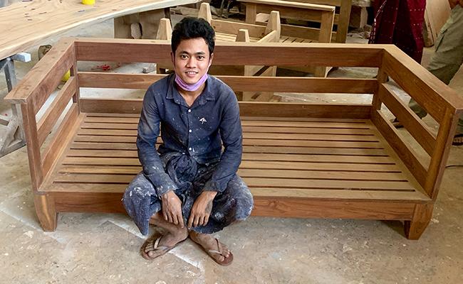 Techtona Teak Hardwood Flooring