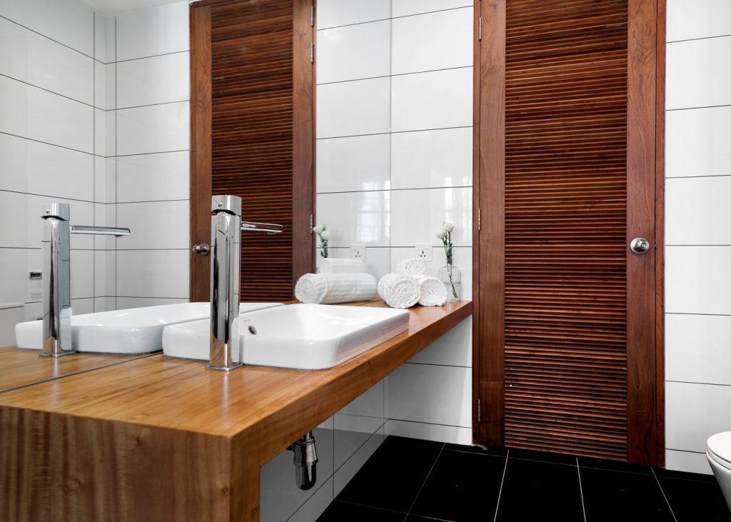 Reclaimed Teak Bathroom